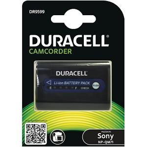 Image For Duracell Batteria per Videocamera 7,4V 2800mAh 20,7Wh (DR9599)