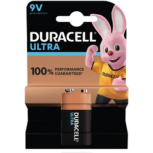 Pile Duracell Ultra Power da9V