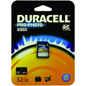 Duracell 32gb Pro-Photo SD Card
