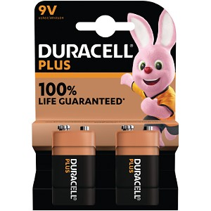 Plus Power 9v - 2 Pack