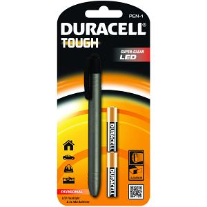Duracell Pen LED Torch & 2AAA