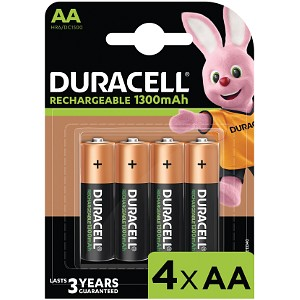 Rechargeable AA 1300mAh - 4 Pack