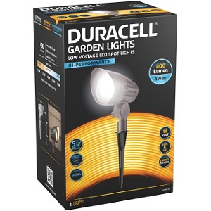 Duracell 400 Lumen LED Garden Spot Light