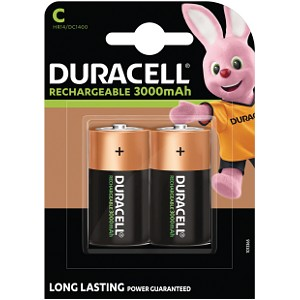 Pile di tipo C Duracell Ricaricabili