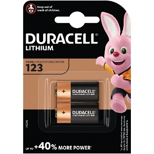 Image of Confezione doppia di pile Duracell Ultra (DL123-X2)