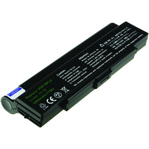 Vaio VGN-CR240N/B Batteria (9 Celle)