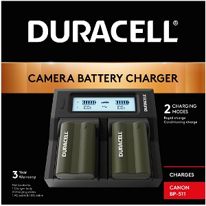 ZR-40MC Canon BP-511 Dual Battery Charger