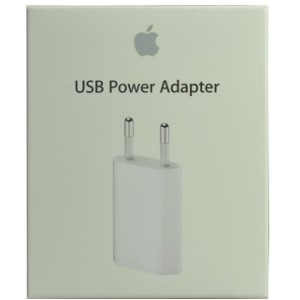 iPhone 3G 5W USB Power Adapter (EU) - Retail