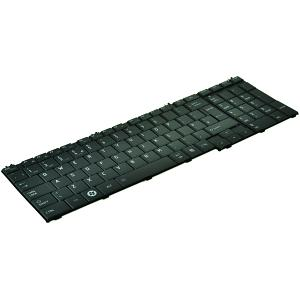 Satellite C650D Keyboard - UK Black