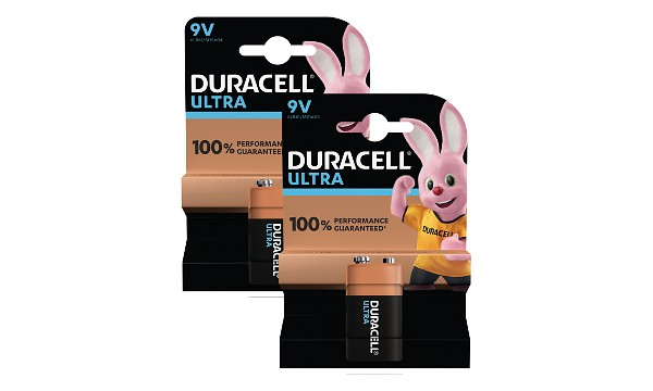 2 Pacchi di Pile Duracell Ultra Power 9V