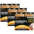 Pacco da 12 Duracell Plus Power 9v PP3